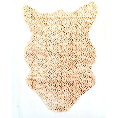 white label tapis fausse fourrure 75 110 cm beige prix pas cher jumia tunisie. Black Bedroom Furniture Sets. Home Design Ideas