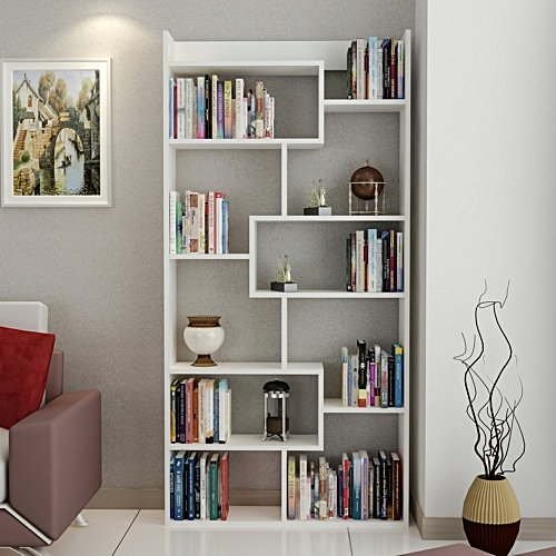 biblioth que moderne meubles de rangements pas cher sur. Black Bedroom Furniture Sets. Home Design Ideas