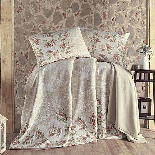 parure de lit piqu lustro beige parures de lit pas cher sur jumia tunisie. Black Bedroom Furniture Sets. Home Design Ideas