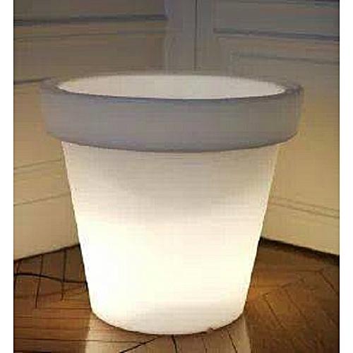 pot lumineux avec t l commande jardinage pas cher sur. Black Bedroom Furniture Sets. Home Design Ideas