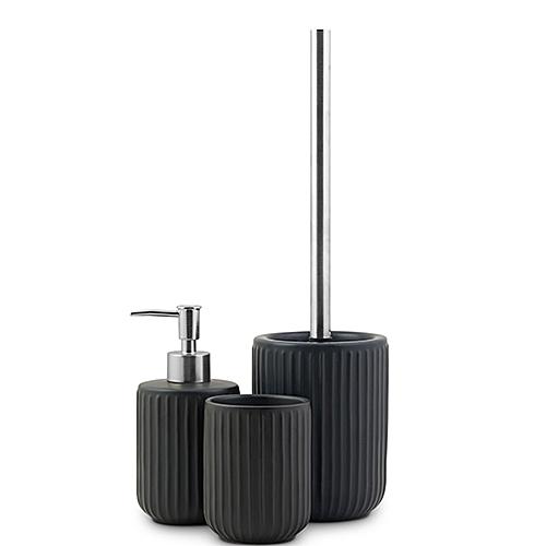Day accessoires salle de bain set 3pcs 73278 noir prix pas cher jumia tunisie - Accessoire salle de bain noir ...