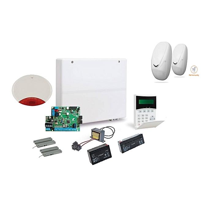 amc elettronica kit alarme pour maison et magasin 4 zones garantie 3 ans pas cher jumia tn. Black Bedroom Furniture Sets. Home Design Ideas