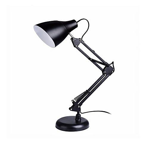 lampe bureau r glable style moderne noir lampes de bureau pas cher sur jumia tunisie. Black Bedroom Furniture Sets. Home Design Ideas