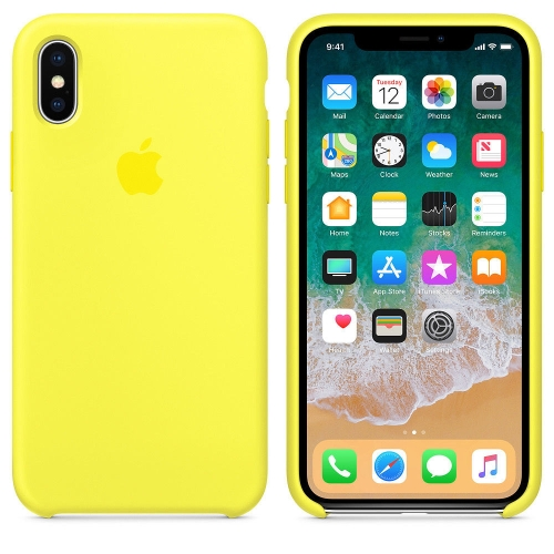 coque iphone xr yellow