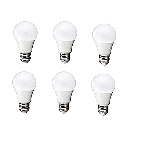 alpha lot de 6 ampoules led 15 watt blanc pas cher black friday 2018 jumia tn. Black Bedroom Furniture Sets. Home Design Ideas
