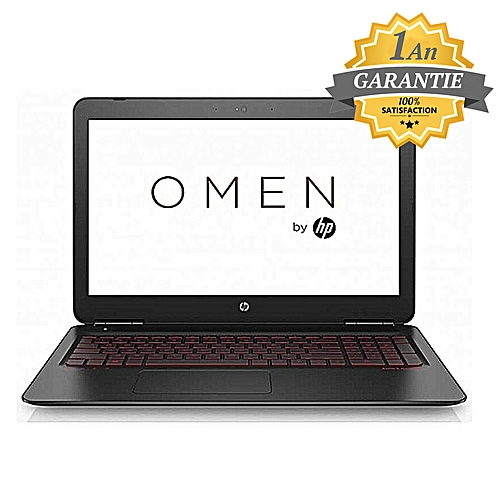 pc portable omen 15 ax209nk i7 7 g n 24 go pc portable gamer pas cher sur jumia tunisie. Black Bedroom Furniture Sets. Home Design Ideas