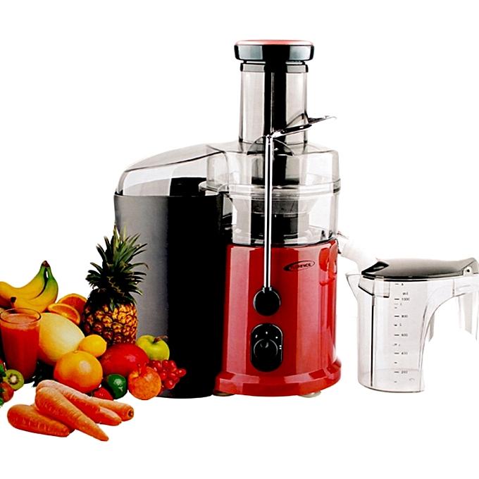 extracteur de jus fruit et l gumes centrifugeuse 700w rouge garantie 1 an. Black Bedroom Furniture Sets. Home Design Ideas