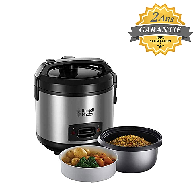 russell hobbs cuiseur riz cuiseur vapeur inox 19750 56 700w pas cher jumia tunisie. Black Bedroom Furniture Sets. Home Design Ideas