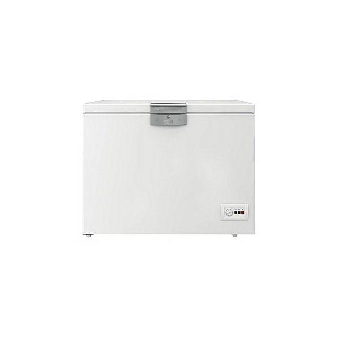 congelateur coffre blanc hsa32542 lectrom nager pas. Black Bedroom Furniture Sets. Home Design Ideas