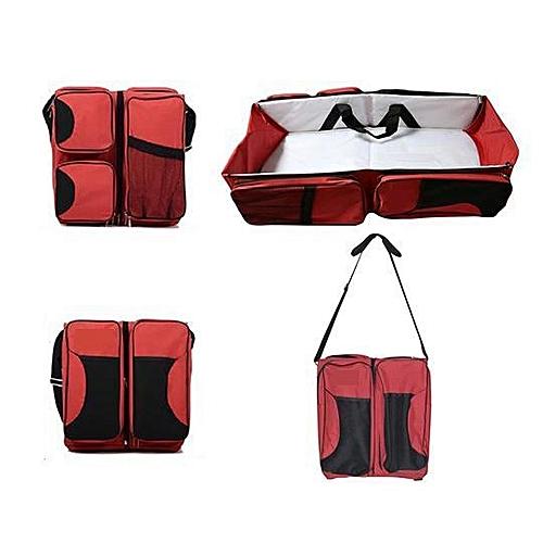 lit de voyage multi fonction pliable nouveau n portable rouge sac langer pas cher sur. Black Bedroom Furniture Sets. Home Design Ideas