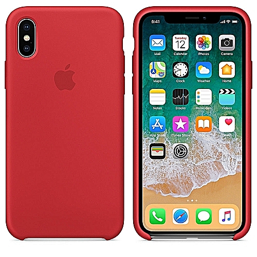 coque pour iphone xr rouge