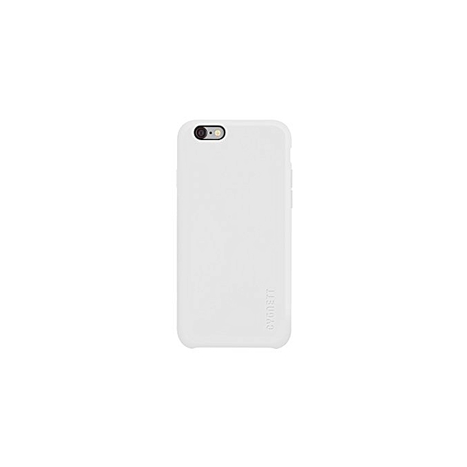 Cygnett etui silicone snap on iphone 6 6s white for Housse iphone 6 plus