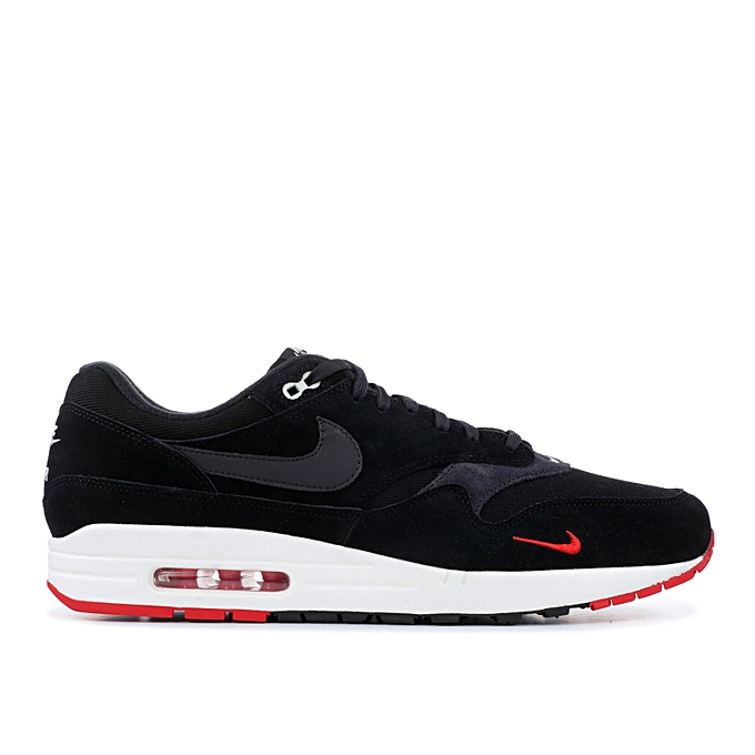 cheap for discount e06c0 ae630 Air Max 1 Premium - Noir  Gris  Rouge