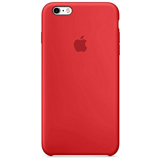 apple silicone case pour iphone 6 et 6s rouge pas cher jumia tunisie. Black Bedroom Furniture Sets. Home Design Ideas