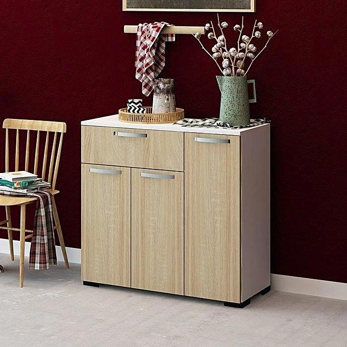 bai rangement d 39 entr e mdf stratifi pas cher jumia tn. Black Bedroom Furniture Sets. Home Design Ideas