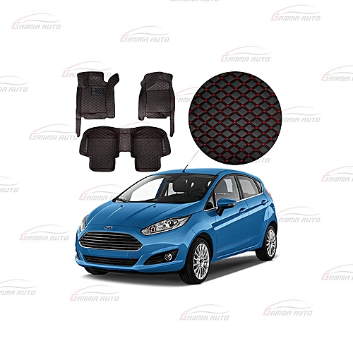 Gamma Auto Tapis Luxe Ford Fiesta Rouge Pas Cher Black Friday 2018