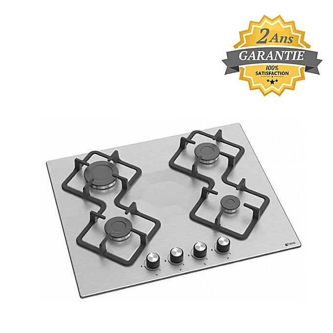 Franco table de cuisson encastrable inox 347 if 4 - Table de cuisson gaz 2 feux encastrable ...