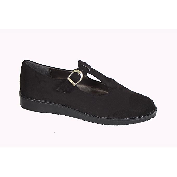 acheter pas cher 5e21e 99c54 Chaussure - Noir - Daim - Pour femme