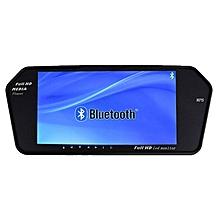 74b33a552926 7 Pouce TFT Écran Miroir moniteur 1024 600 avec MP5 Bluetooth Auto  Rétroviseur Affichage SD
