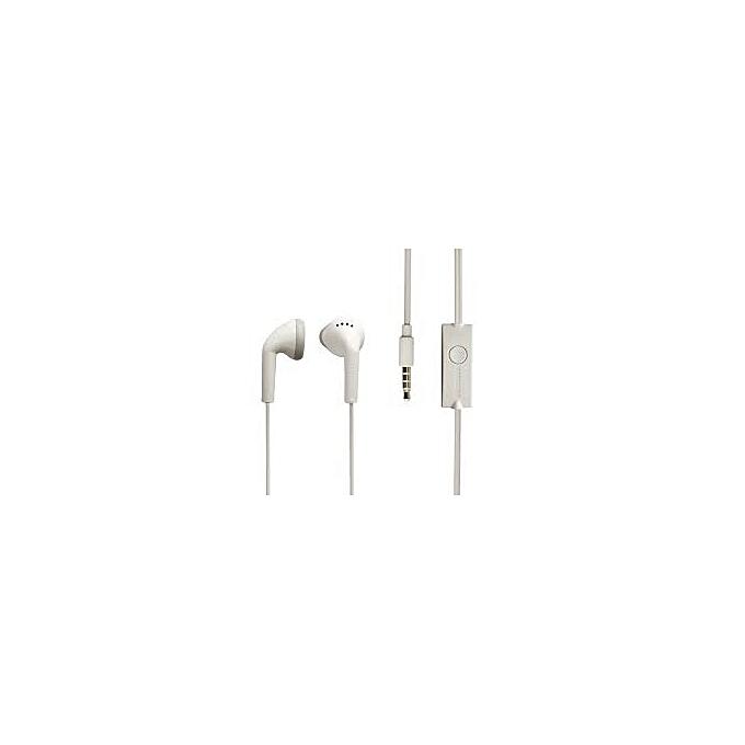 ecouteur kit main libre samsung avec micro blanc couteurs pas cher sur jumia tunisie. Black Bedroom Furniture Sets. Home Design Ideas