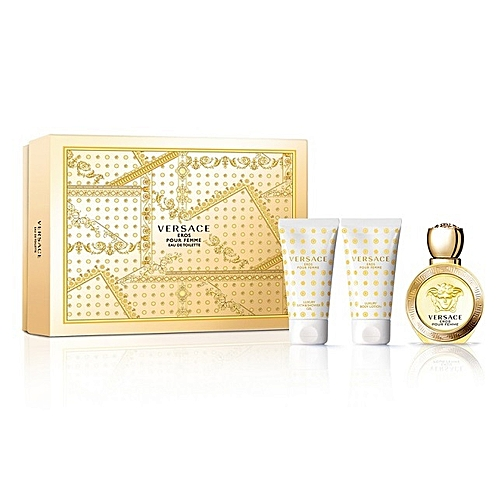 Happyness 50mlLait Corps Eros Gel Douche De Coffret 50ml Edt wmnN80