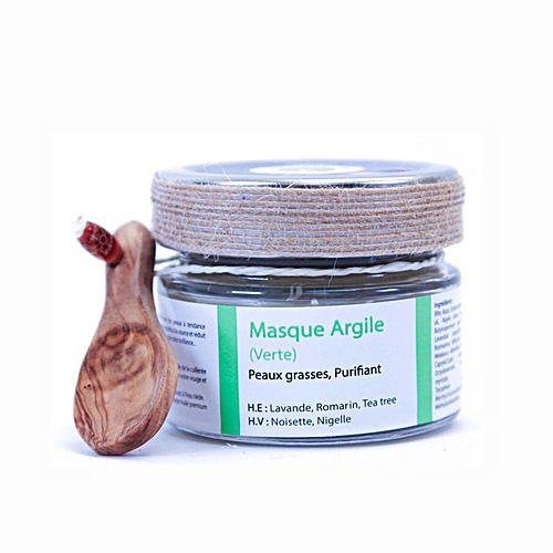 masque d 39 argile verte peau grasse 150gr soins du visage pas cher sur jumia tunisie. Black Bedroom Furniture Sets. Home Design Ideas
