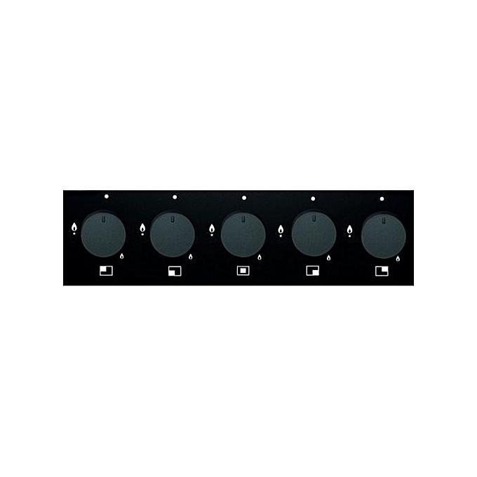 teka plaque 5 feux noir vitro c 70 grille fontes garantie 2 ans pas cher jumia tunisie. Black Bedroom Furniture Sets. Home Design Ideas