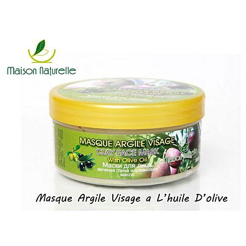 masque argile visage a l 39 huile d 39 olive 300gr soins du visage pas cher sur jumia tunisie. Black Bedroom Furniture Sets. Home Design Ideas