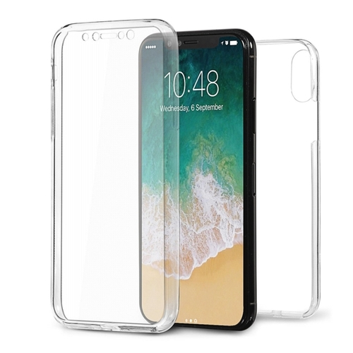 coque iphone x antichoc 360 transparent