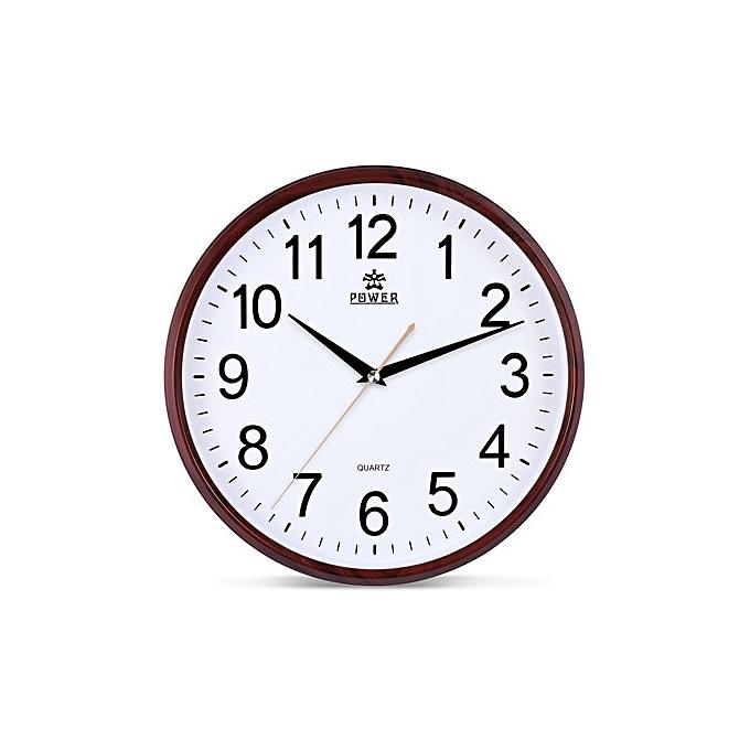 Power horloge murale silencieuse pw802jks1 garantie 1 an prix pas cher jumia tunisie for Horloge murale silencieuse