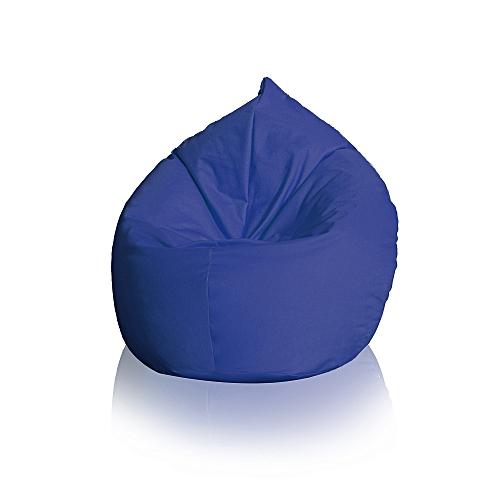 pouffy pouf poire pacha xxl 80cm x 130cm bleu marine garantie 1 an prix pas cher jumia. Black Bedroom Furniture Sets. Home Design Ideas