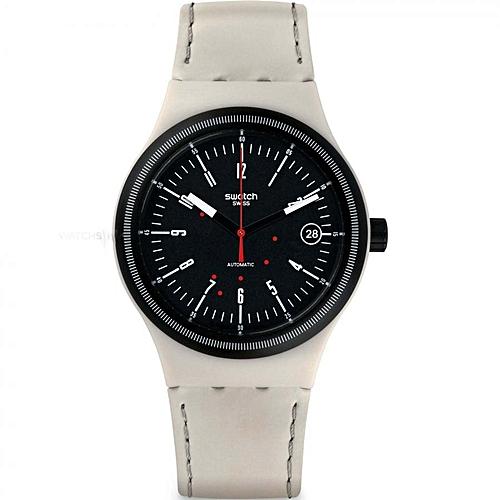 swatch montre pour homme sutm400 beige garantie 1 an. Black Bedroom Furniture Sets. Home Design Ideas