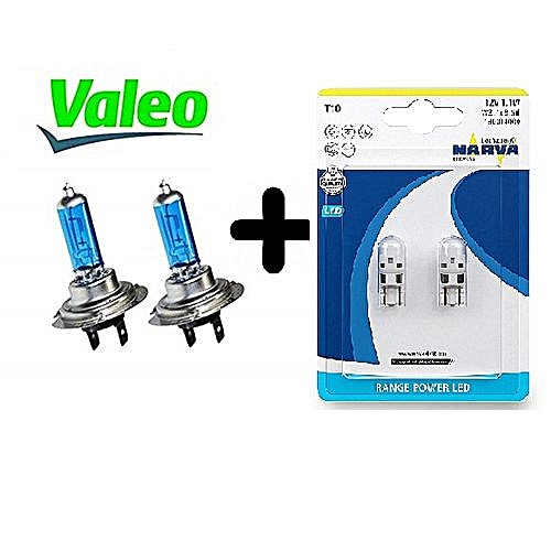 Lampes H7 Valeo Pack2 Xenonlumière Germany Look Led BlancheVeilleuse Narva R3Ajq54LcS