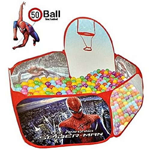 parc balles piscine balles jouet pour enfant spiderman 50 balles inclus parcs pas. Black Bedroom Furniture Sets. Home Design Ideas