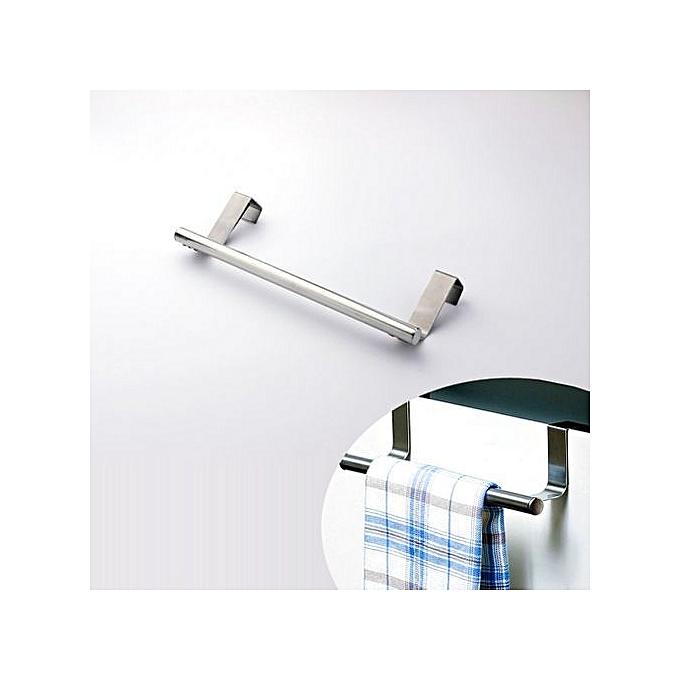 Barre suspension porte cuisine acier inoxydable portes - Porte serviette 3 barres ...