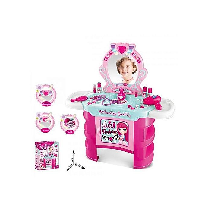 white label ensemble de coiffeuse pour enfants avec son et. Black Bedroom Furniture Sets. Home Design Ideas