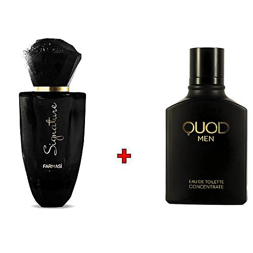 Quod Parfum Et Homme Signature Men 50ml Femme Lot 100ml 4RqLcA35j