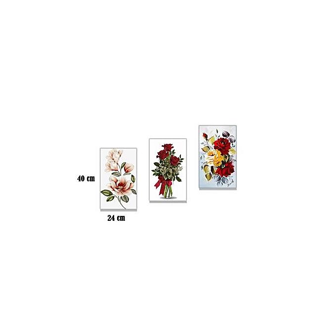 tableau d coratif mural fleure rose indien 22 45 cm prix pas cher en tunisie promotion. Black Bedroom Furniture Sets. Home Design Ideas