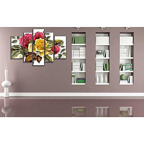 tableau en 5 bois mdf 120 80cm jumia tunisie. Black Bedroom Furniture Sets. Home Design Ideas