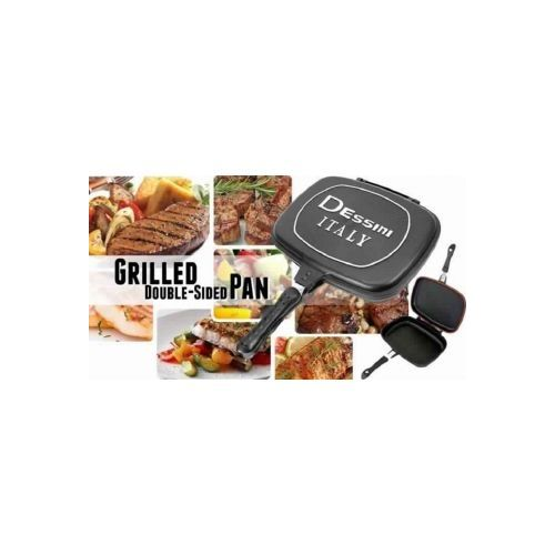 how to use dessini double grill pan