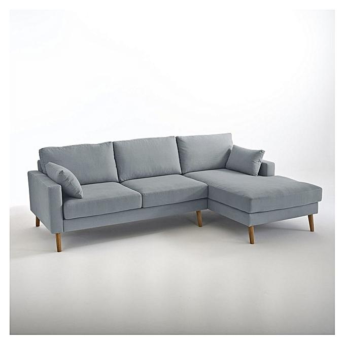canap d 39 angle hans mousse 28 30 velours de soie structure bois rouge pieds h tre 4. Black Bedroom Furniture Sets. Home Design Ideas