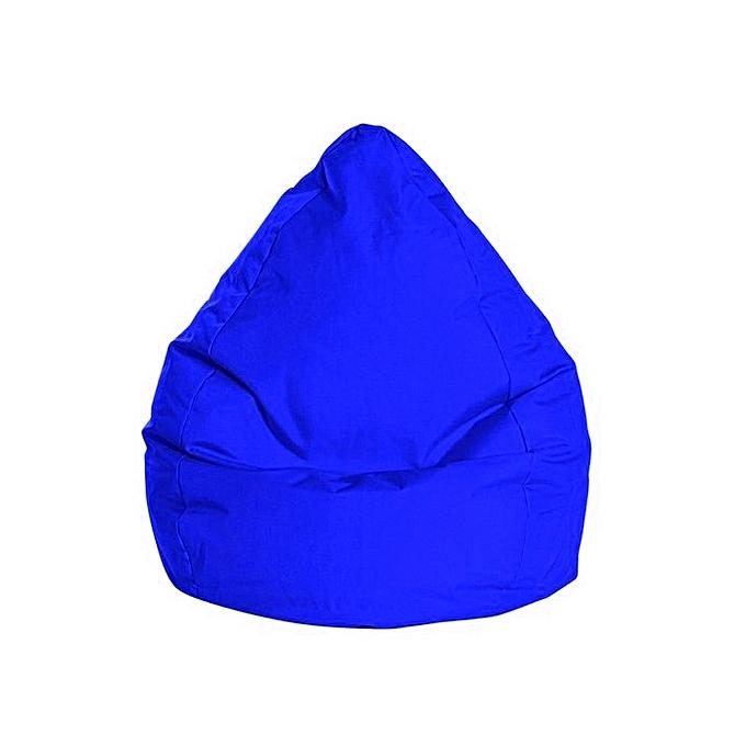 white label pouf poire xxl brava bleu roi 90 120cm prix pas cher jumia tunisie. Black Bedroom Furniture Sets. Home Design Ideas