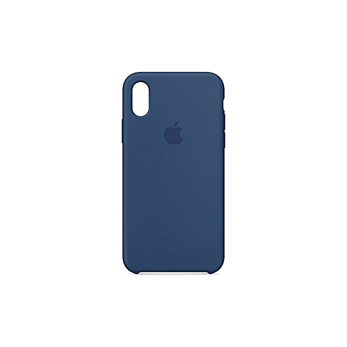 apple coque iphone x bleu