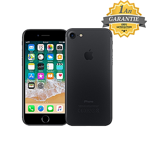 iphone 7 32gb noir garantie 1an telephonie pas cher sur jumia tunisie. Black Bedroom Furniture Sets. Home Design Ideas