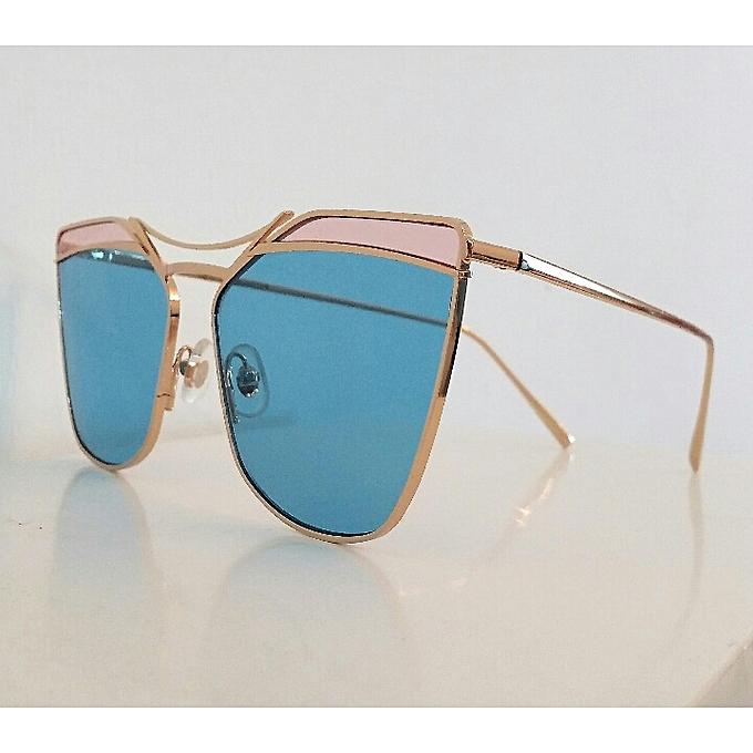Gentle Monster Lunette de soleil - Off Pink - Bleu à prix pas cher ... 1d6e55a8f924