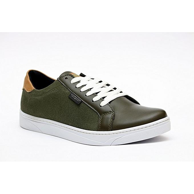 beffe064f1d084 White Label Chaussure Sport Chic Pour Homme 027 - Vert à prix pas ...