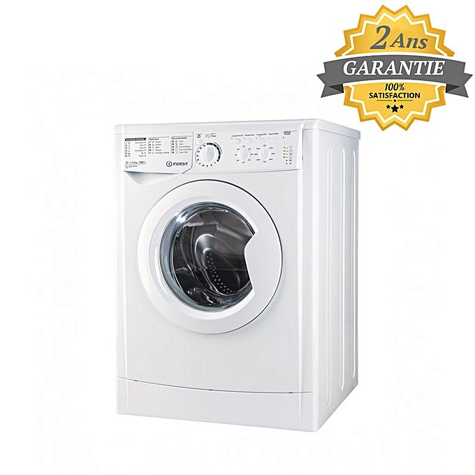 indesit machine laver automatique 6kg blanc garantie 2. Black Bedroom Furniture Sets. Home Design Ideas