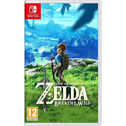 switch jeu the legend of zelda breath of the wild