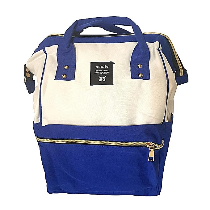 la moitié 67d4a 3d66d Shack Bag 2 en 1 : Sac à main & sac à dos : Coton anello - Bleu roi