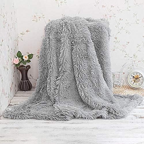 White label jet de lit fausse fourrure gris 220 160 cm prix pas cher jumia tunisie - Jete de lit fausse fourrure ...